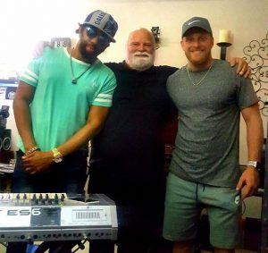 Victor Phazz Clark, Randy Roberts and Cole Beasley